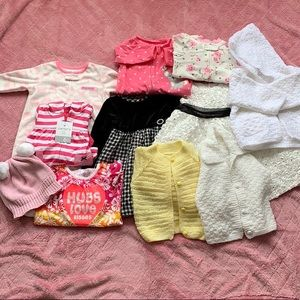 Baby Bundle 6 months to 2t knitted sweater…